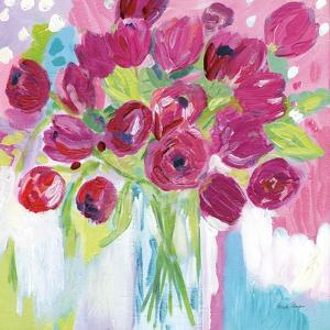 Joyful Tulips by Farida Zaman