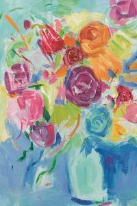 Matisse Florals Pastel Crop by Farida Zaman