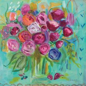 Pink Peonies by Farida Zaman