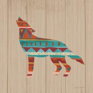 Southwestern Vibes VI on Walnut by Farida Zaman
