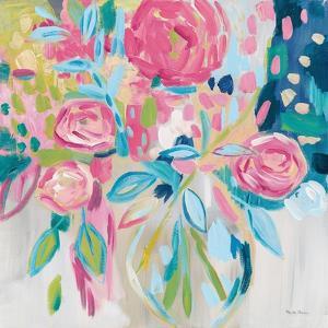 Summer Pink Floral by Farida Zaman