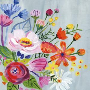 Vintage Floral II by Farida Zaman