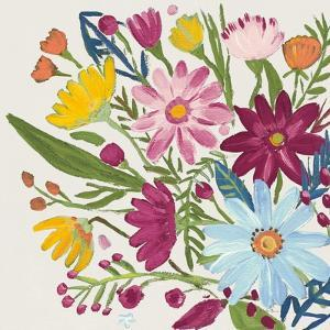 Vintage Floral III v2 by Farida Zaman