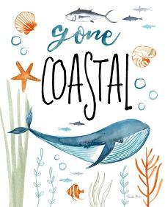 Whale Tale I Gone Coastal by Farida Zaman