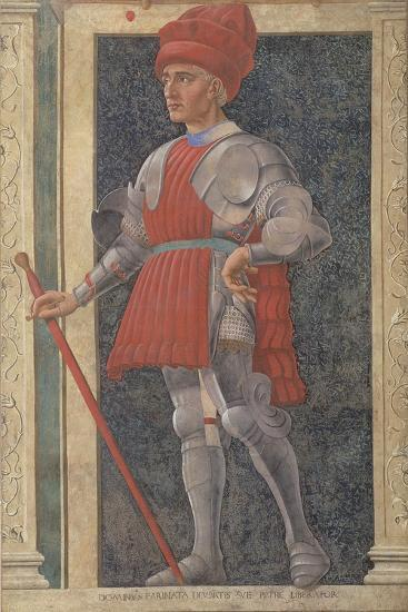 Farinata Degli Uberti (D.1264) from the Villa Carducci Series of Famous Men and Women-Andrea Del Castagno-Giclee Print