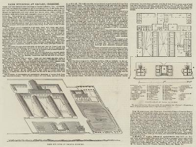 Farm Buildings at Liscard, Cheshire--Giclee Print
