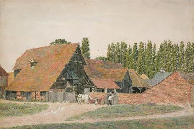 Farm Buildings, Dorchester, Oxfordshire-George Price Boyce-Giclee Print