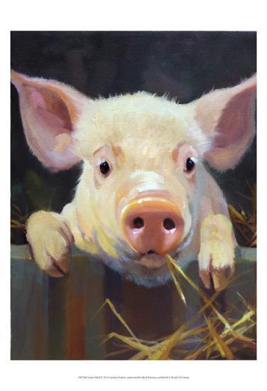 Farm Club I-Carolyne Hawley-Art Print