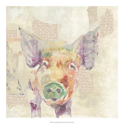 Farm Collage III-Jennifer Goldberger-Art Print