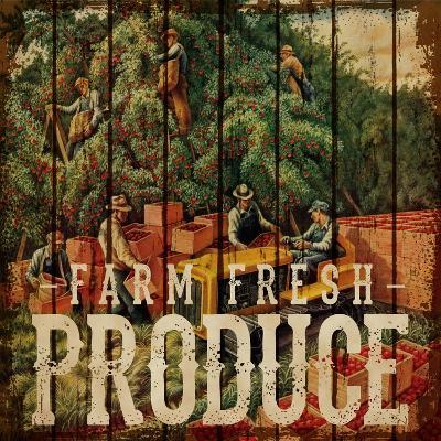 Farm Fresh Produce--Giclee Print