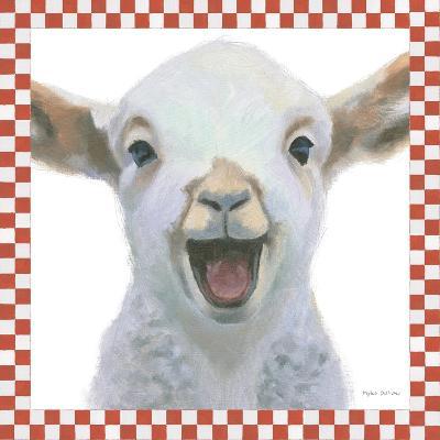 Farm Friends I Border-Myles Sullivan-Art Print
