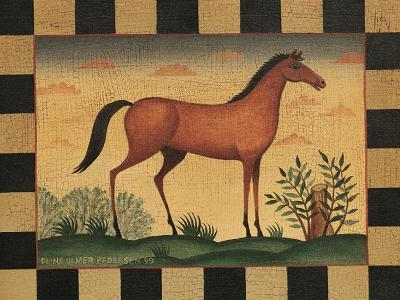 Farm Horse-Diane Pedersen-Art Print