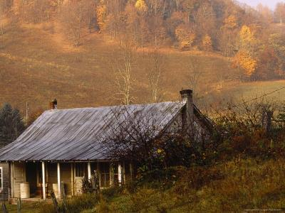 Farm House Near Volney, Virginia in Central Appalachia-Raymond Gehman-Photographic Print