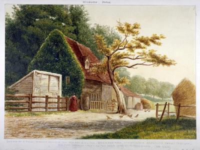 Farm in Kilburn Park, Edgware Road, Paddington, London, C1865--Giclee Print