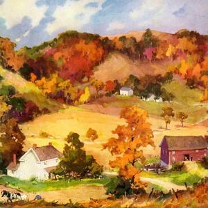 """Farm Landscape,""November 1, 1940"