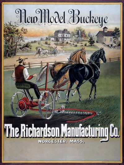 Farm Machinery Advertisement--Giclee Print