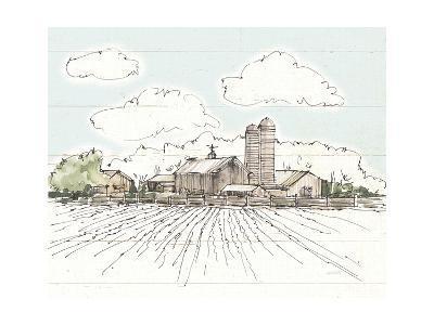 Farm Memories I Shiplap-Anne Tavoletti-Art Print