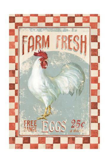 Farm Nostalgia VII v2-Danhui Nai-Art Print