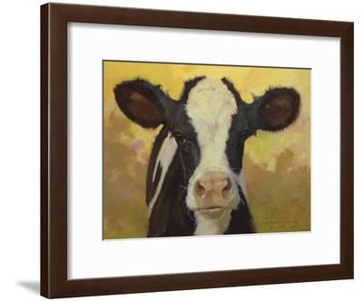 Farm Pals III-Carolyne Hawley-Framed Art Print
