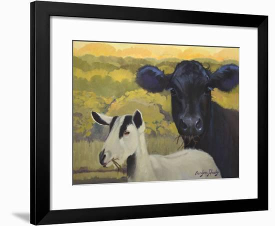 Farm Pals IV-Carolyne Hawley-Framed Art Print