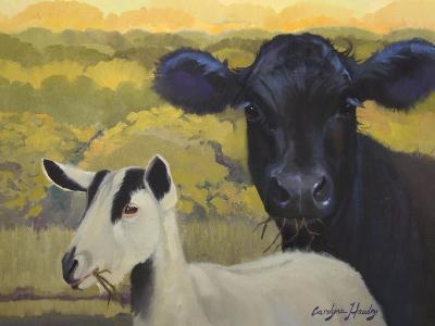 Farm Pals IV-Carolyne Hawley-Art Print