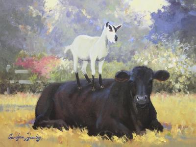 Farm Pals V-Carolyne Hawley-Art Print