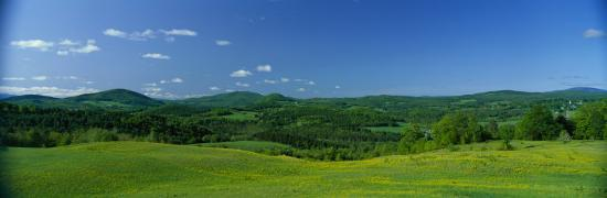 Farm, Peacham, Vermont, USA--Photographic Print