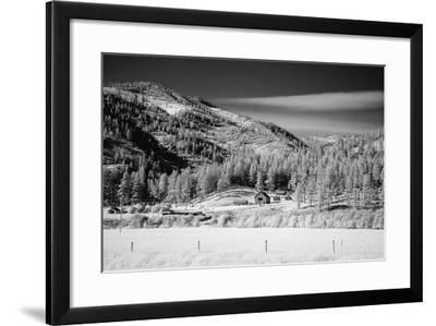 Farm, Rural Wyoming-Carol Highsmith-Framed Photo