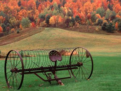 Farm Scene, Vermont, USA-Charles Sleicher-Photographic Print