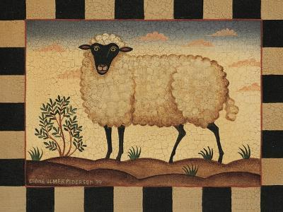 Farm Sheep-Diane Pedersen-Art Print