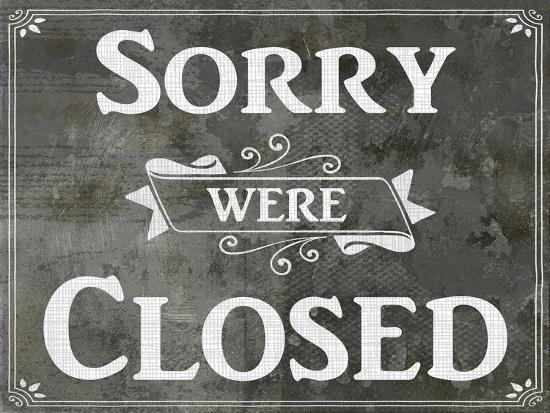 Farm Sign_Closed-LightBoxJournal-Giclee Print