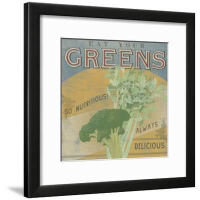 Farm Stand IV-June Vess-Framed Art Print
