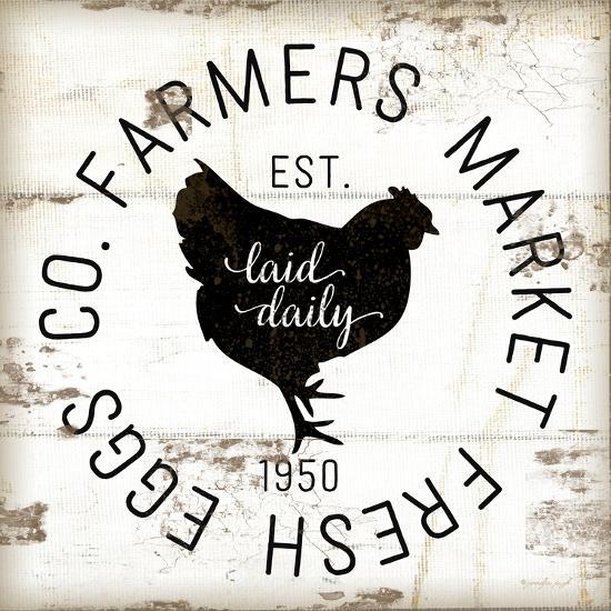 Farmer Market Eggs-Jennifer Pugh-Premium Giclee Print