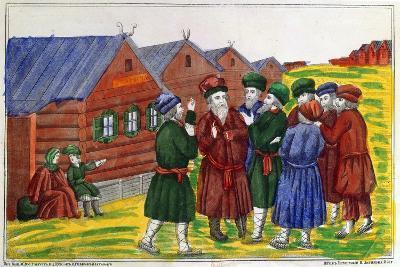 Farmer Reunion, 1858--Giclee Print