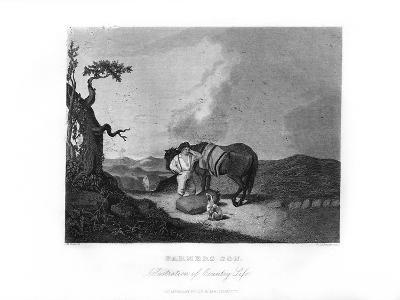 Farmer's Son, C1872-William G Jackman-Giclee Print