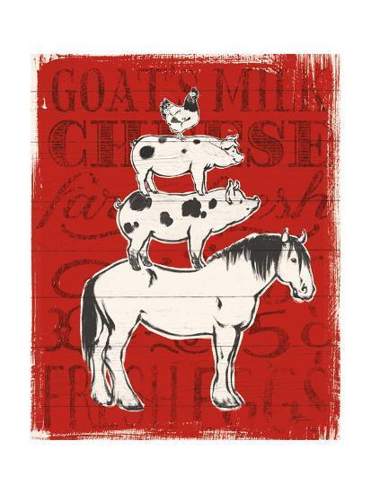 Farmers Market V-Janelle Penner-Art Print