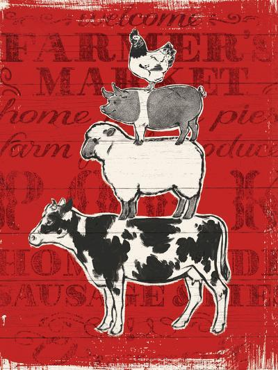 Farmers Market VI-Janelle Penner-Art Print