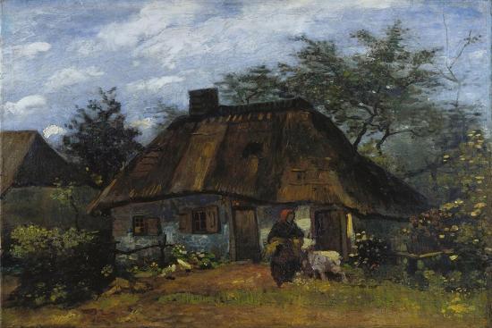 Johns Kitchen Nuenen.Farmhouse In Nuenen La Chaumier Giclee Print By Vincent Van Gogh Art Com