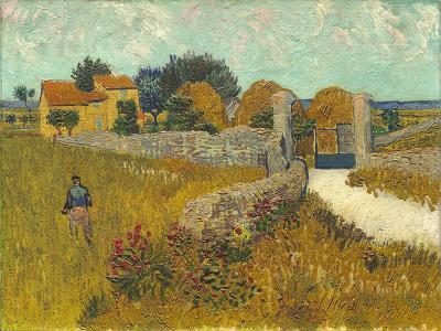 Farmhouse in Provence, 1888-Vincent van Gogh-Giclee Print