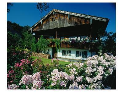 Farmhouse in Upper Bavaria, Bavaria, Germany--Art Print