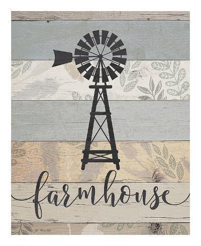 Farmhouse-Jo Moulton-Art Print