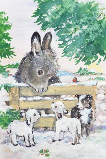 Farmyard Friends, 1996-Diane Matthes-Giclee Print