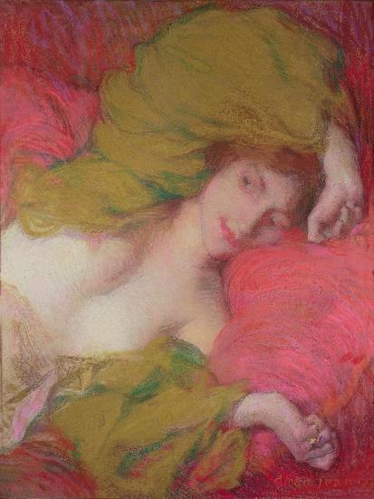 Farniente-Edmond-francois Aman-jean-Giclee Print