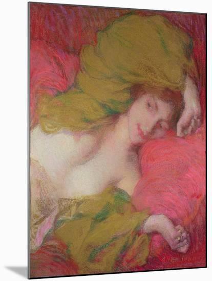 Farniente-Edmond-francois Aman-jean-Mounted Giclee Print