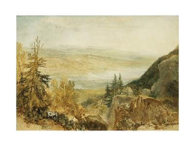 Farnley Hall From Above Otley-J^ M^ W^ Turner-Giclee Print