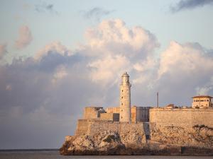 Faro Castilla Del Morro, the Old Fort at the Entrance to Havana Harbour, Havana, Cuba