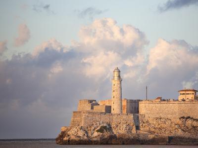 Faro Castilla Del Morro, the Old Fort at the Entrance to Havana Harbour, Havana, Cuba--Photographic Print