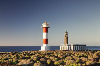 Faro De Fuencaliente Lighthouses at Sunrise, Punta De Fuencaliente, La Palma, Canary Islands, Spain-Markus Lange-Photographic Print