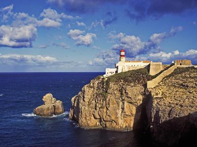 Farol De Cabo De Sao Vicente, Algarve, Portugal-Hans Peter Merten-Photographic Print
