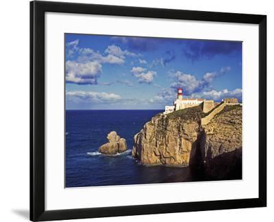 Farol De Cabo De Sao Vicente, Algarve, Portugal-Hans Peter Merten-Framed Photographic Print